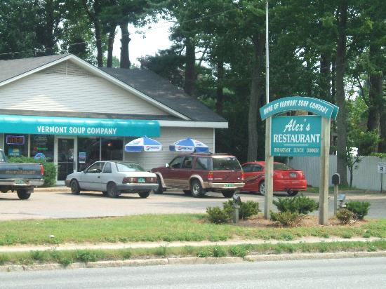 Ethan Allen Motel: Resto pour le déjeuné