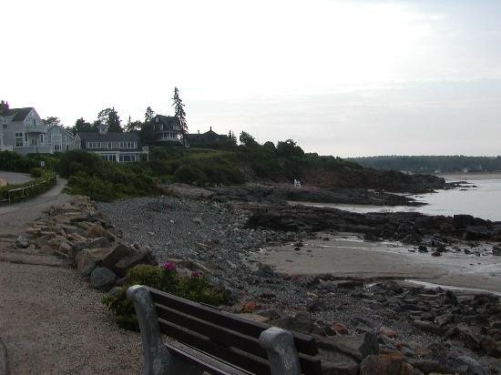 Ogunquit, ME: Tide going out