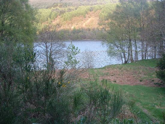Forest Holidays Strathyre, Scotland : View from the veranda of Loch Lubnaig