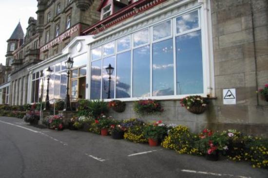The Alexandra Hotel: Summer flowers
