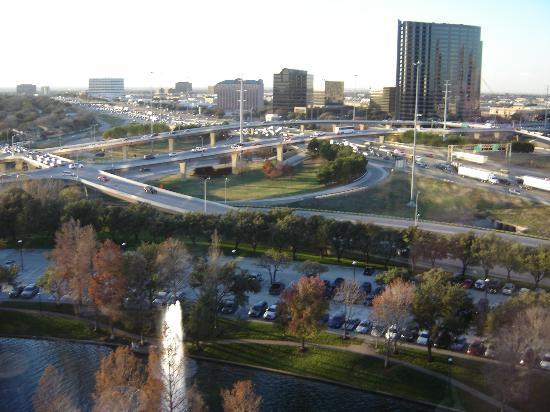 Hilton Dallas Lincoln Centre : view outside my room