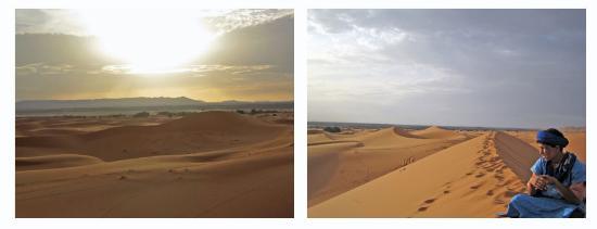 Auberge Ksar Sania: dunes
