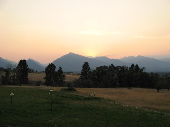 Big Sky Bed and Breakfast : Big Sky Sunset