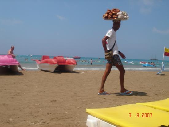 Sun Beach Hotel: Beach Food Guy