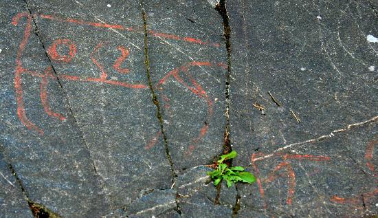 Rock Carvings, Ekeberg: Rock carvings - Ekeberg