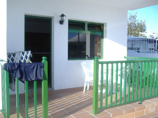 Apartamentos Elena: Our Balcony