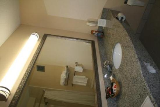 Holiday Inn Roanoke Valley View: New Granite Counter Top in Bathroom