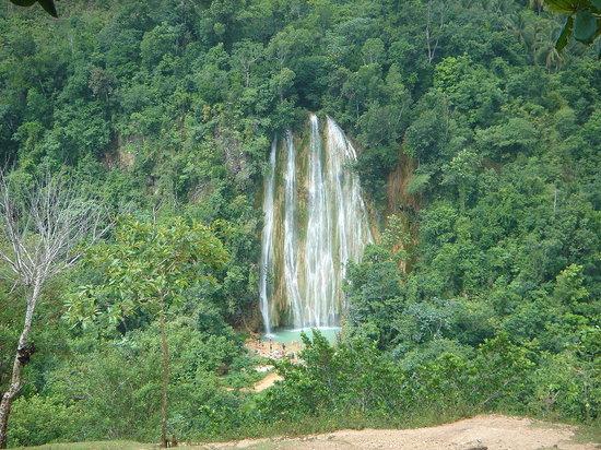 Péninsule de Samaná, République dominicaine : cascada del limon