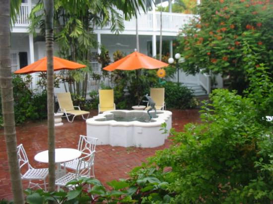 Veranda outside our room - Picture of The Gardens Hotel, Key West ...