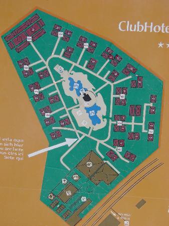 Riu tequila map Picture of Hotel Riu Tequila Playa del Carmen