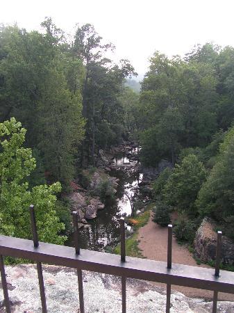 Noccalula Falls Park & Campground: The drop