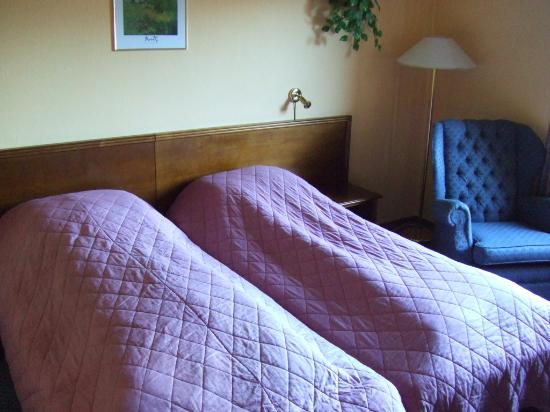 Park Hotel: Double bed.