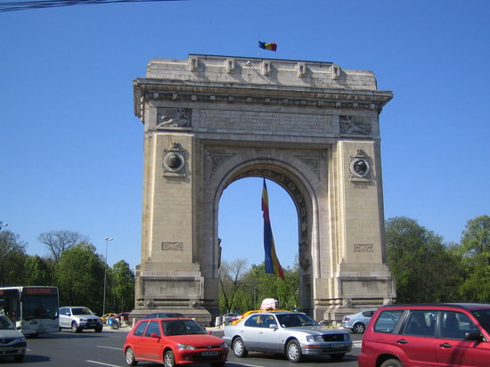 ‪بوخارست, رومانيا: Arc de Triumphe Bucharest Avril 2007‬