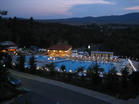 Santa Marina Holiday Village: Pool at Night