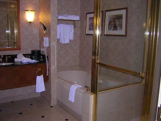 bathtub / shower stall - Picture of Harrah\'s Resort Atlantic City ...