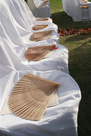 Villa Montana Beach Resort: The set up of the chairs