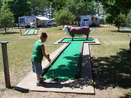 Stand Rock Campground: miniture golf