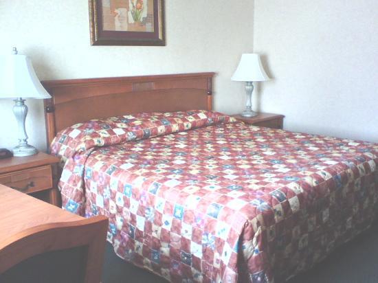 Best Western Los Angeles Worldport Hotel: Bed