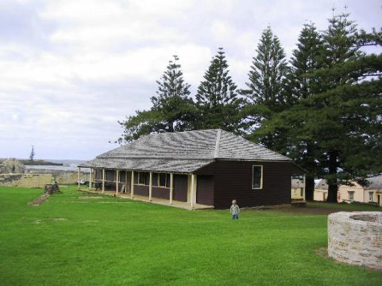 Old Kingston Town: original Government house, Kingston, Norfolk Island