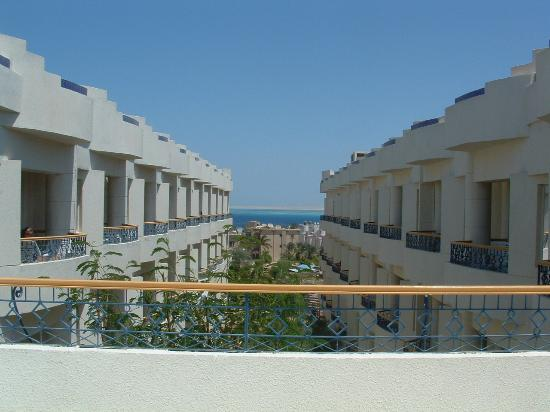 Hurghada SeaGull Beach Resort: View from the terrace