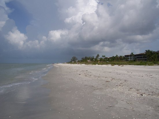 Sanibel Island, FL: secluded beaches at 'blue gulf'