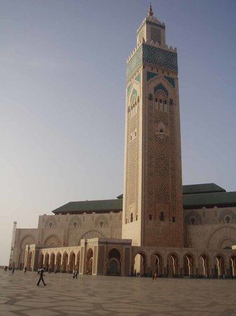Casablanca, Marruecos: The Mosquee Hassan II