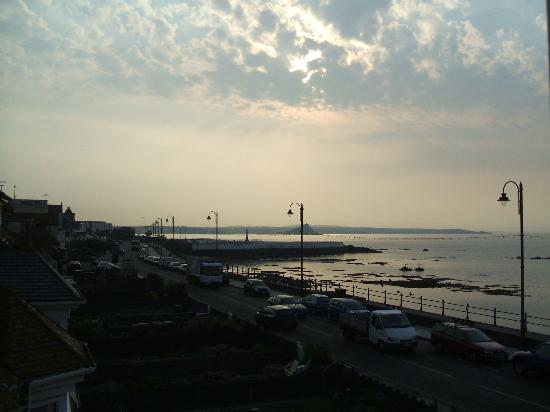 The Shoreline Guest House : From Room 6 - Sunrise over St Michael's Mount