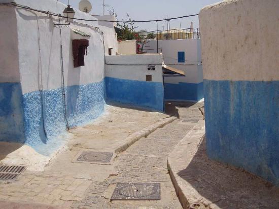 Rabat, Fas: Kasbah des Oudaias