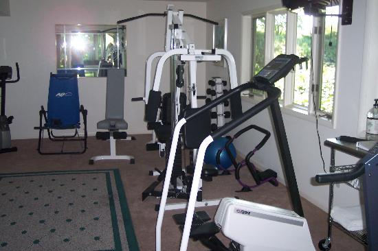 The Inn at Chateau Grand Traverse: Workout Room