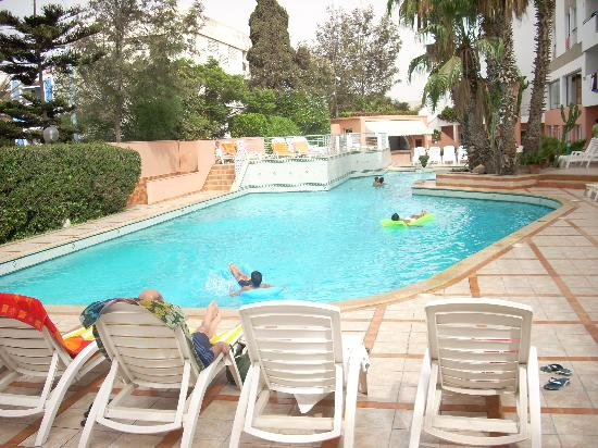 Hotel Kamal: tempting pool