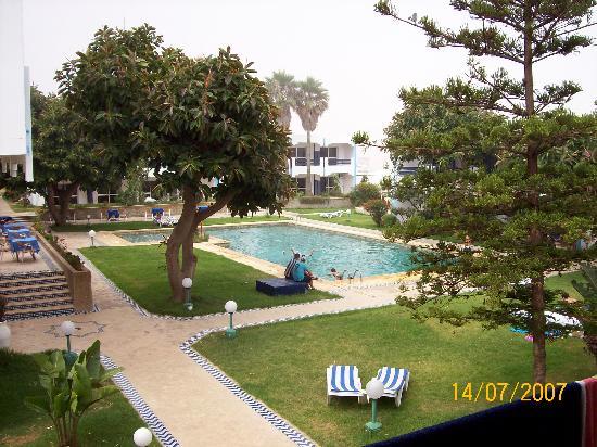 Hotel Al Khaima: Sicht aus dem Zimmerbalkon