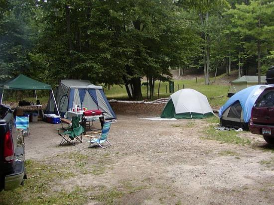 Campsite # 243 - Ludington State Park