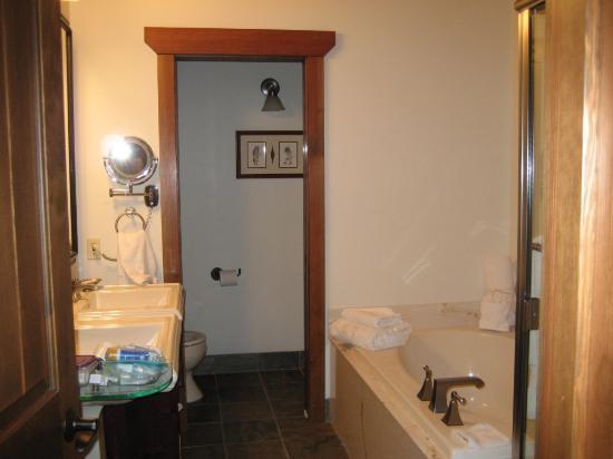 Elk Mountain Resort : Bathroom