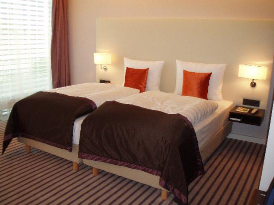Radisson Blu Hotel Leipzig : Hotel Bedroom