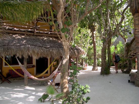 Holbox Hotel Mawimbi: Strolling through the hotel grounds