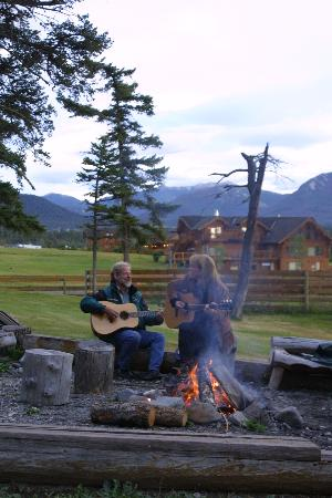 Echo Valley Ranch & Spa : Barbecue night