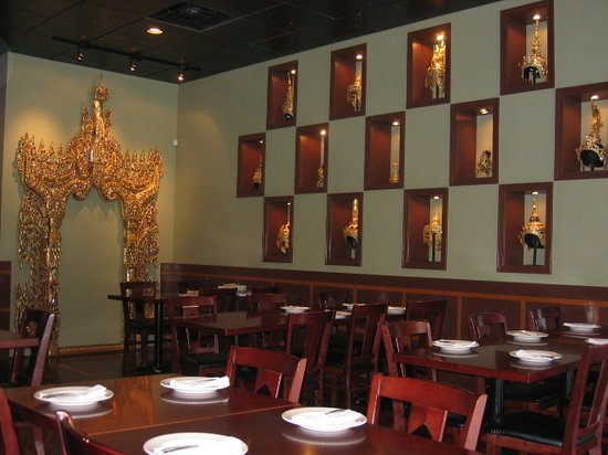 Opart Thai House Restaurant: View Inside