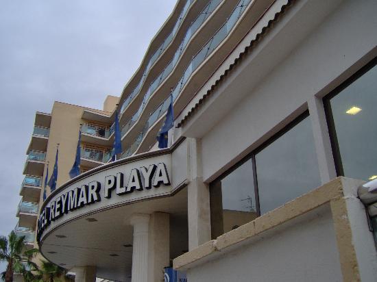 Reymar Playa: Ingresso dell'hotel