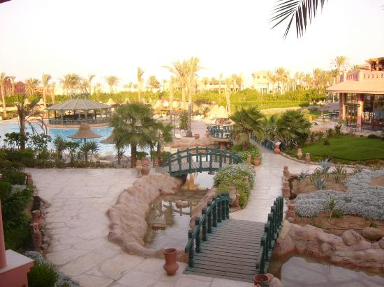 Park Inn by Radisson Sharm El Sheikh Resort: view of gardens from our balcony