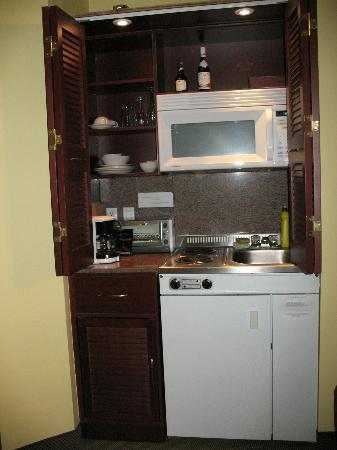 Anne Ma Soeur Anne: Kitchen Area of Room 28