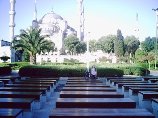 Historia Hotel: sultan achmet moschee am tag
