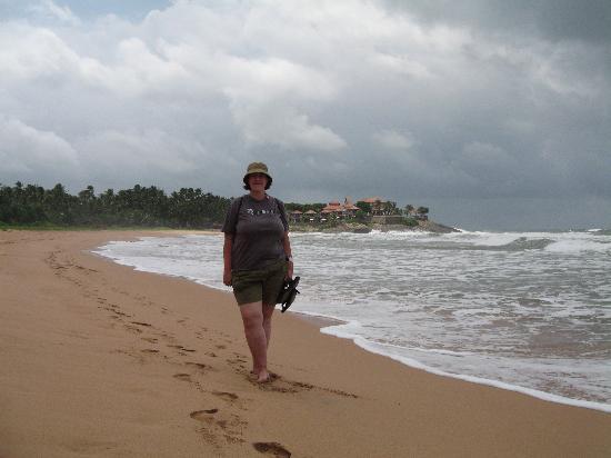 Bentota beach to North of Saman Villas