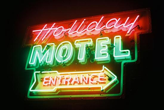 Vintage Holiday Motel sign - Picture of Holiday Music ...