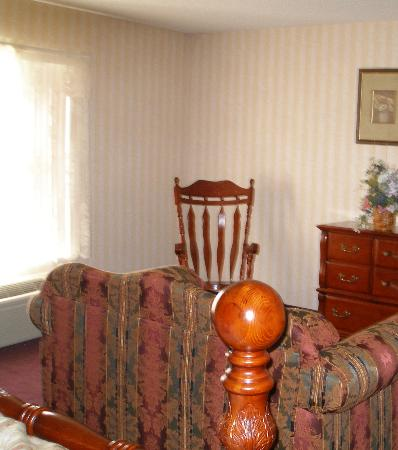 Fredericksburg Hill Country Hotel: area by window