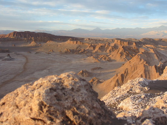 San Pedro de Atacama, Chili : Valley of the Moon