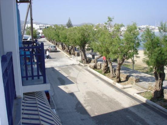 Argo Hotel: vue du balcon
