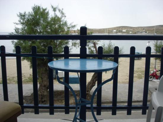 Argo Hotel: le balcon