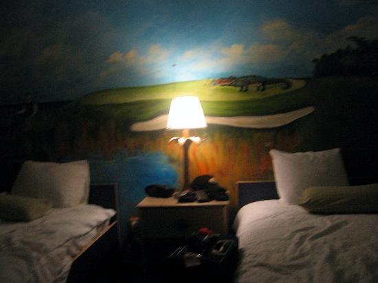 Hampton Inn Hilton Head : Kid's Room beds