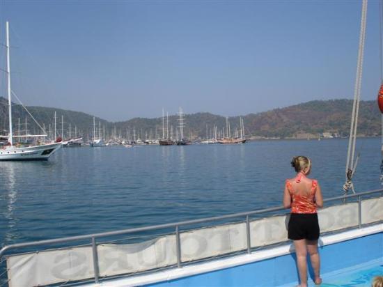 Mellis Beach: boat trip, Fethiye