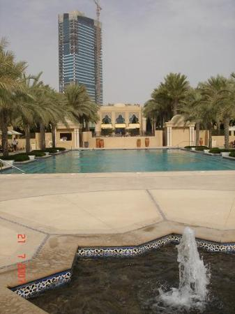 Residence&Spa at One&Only Royal Mirage Dubai: What a shame about the view!
